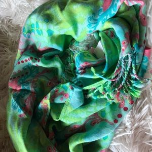 Lilly Pulitzer  scarf EUC
